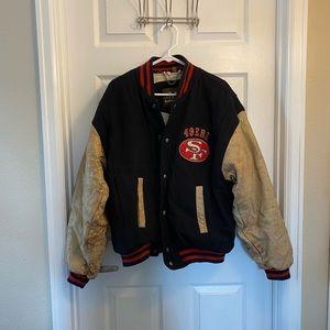 San Francisco 49ers Letterman Jacket